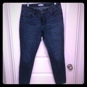Loft Curvy Skinny jeans size 12
